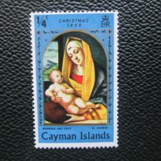 TIMBRE ANGLIA/COLONII CAYMAN ISLANDS SERIE=MNH, Nestampilat