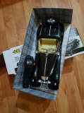 Masina electrica de epoca cu telecomanda, 2-4 ani, Electrice, Plastic