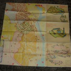 Harta veche Kiev - Ucraina - 2+1 gratis - RBK17942