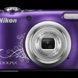 COOLPIX A10 (purple lineart)
