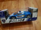 Masina de politie cu telecomanda, 2-4 ani, Electrice, Plastic