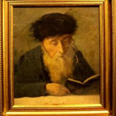Evreuc citind, nesemnat - Pictor roman