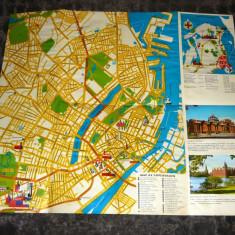 Harta veche Copenhaga - Danemarca - 2+1 gratis - RBK17952
