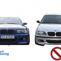 Ornamente Proiector BMW E46 M3(98-05) H-Design