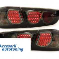 Stopuri LED Mitsubishi Lancer 08 + / negru / fum - Stopuri tuning