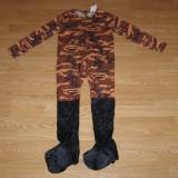 Costum carnaval serbare militar pentru copii de 7-8 ani - Costum Halloween, Marime: Masura unica, Culoare: Din imagine