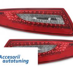 Stopuri LED Porsche 911 / 997 04-08rosu/cristal - Stopuri tuning