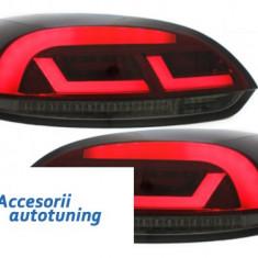 Stopuri Litec LED VW Scirocco III 08-10 rosu / fum - Stopuri tuning