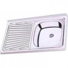 Chiuveta pentru masca SIT-ON TXT 05555081111BD DR 80x50cm - Chiuveta bucatarie