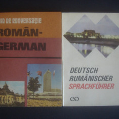 GHID DE CONVERSATIE ROMAN GERMAN SI GERMAN ROMAN 2 volume - Curs Limba Germana Altele
