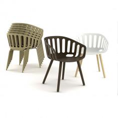 Scaune tehnopolimer Basket Chair - Mobila pentru terasa