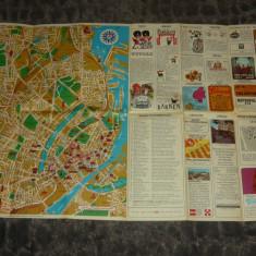 Harta veche Copenhaga si Marea Nordului - Danemarca - 2+1 gratis - RBK17959