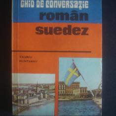 VALERIU MUNTEANU - GHID DE CONVERSATIE ROMAN SUEDEZ Altele