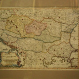 A Map of the Seat of War in Hungary between Imperialists and the Turks 1750, Harta conflictelor dintre impeialisti si turci