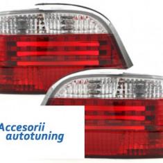 Stopuri BMW E38 95-02 rosu/cristal - Stopuri tuning
