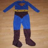 Costum carnaval serbare superman pentru copii de 7-8 ani marime M - Costum Halloween, Marime: Masura unica, Culoare: Din imagine