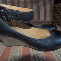 Pantofi dama GABOR, mas. 38, 5-39 - Pantof dama Gabor, Culoare: Negru, Marime: Alta, Piele naturala, Cu platforma