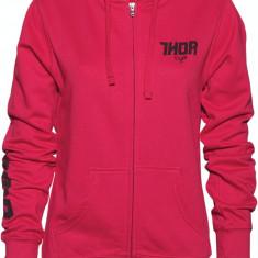 MXE Hanorac cu gluga Dama Thor Fin Zip culoare Roz Cod Produs: 30510939PE - Hanorac dama