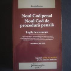 NOUL COD PENAL SI NOUL COD DE PROCEDURA PENALA - Carte Drept penal