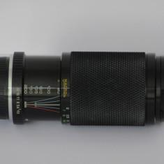 MC Soligor C/D Zoom+Macro 80-200mm f/4.5 +capace- Pentax PK Mount - Practic nou! - Obiectiv DSLR Pentax, Macro (1:1), Manual focus, Pentax - K