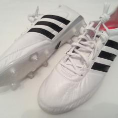 MODEL NOU ghete fotbal Adidas Gloro 16.1 FG model 2016 Made in Vietnam soccer, Marime: 45 1/3, Culoare: Alb, Barbati