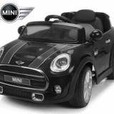 Masinuta electrica jucarie MINI COOPER F56 12 volti neagra + MP3 Player