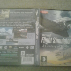Microsoft Flight Simulator 2004 - A century of flight - PC - Jocuri PC Microsoft Game Studios, Simulatoare, Toate varstele