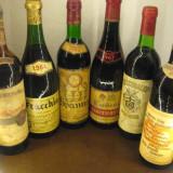 6 sticle vin lotto ( I ) recoltare 1962/1964/1964/1967/1974/1975 - Vinde Colectie, Aroma: Sec, Sortiment: Rosu, Zona: Europa