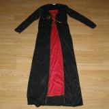 Costum carnaval serbare printesa vrajitoare pentru copii de 8-9-10 ani - Costum Halloween, Marime: Masura unica, Culoare: Din imagine
