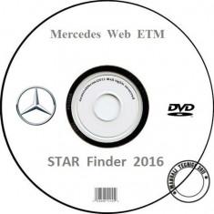 Mercedes-Benz STAR Finder 2016 - Scheme Electrice - Varianta Originala - Manual auto