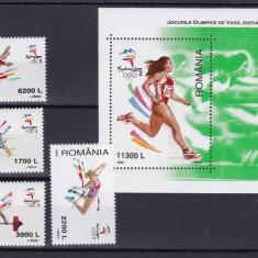 ROMANIA 2000, LP 1522, LP 1523, OLIMPIADA SYDNEY SI COLITA MNH - Timbre Romania, Nestampilat