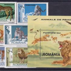 ROMANIA 2000, LP 1532, LP 1533, ANIMALE DE PRADA SI COLITA MNH - Timbre Romania, Nestampilat