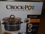 Slow cooker Crock-Pot 2,4 litri + bonus bol pentru orez