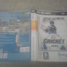 Joc PC - Cricket 2002 ( EA Sports ) (Sold Out), Sporturi, 3+