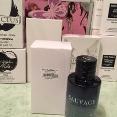 Tester Christian Dior Sauvage 100 ml - Parfum barbati Christian Dior, Apa de toaleta