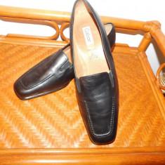 GABOR, PANTOFI NOI NR 41, FINI, COMOZI, ELEGANTI - Pantof dama Gabor, Culoare: Din imagine, Piele naturala, Cu talpa joasa