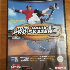 GAMECUBE Tony Hawk's Pro skater 3 / Joc original by WADDER Activision, Sporturi, 16+, Multiplayer