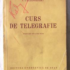 CURS DE TELEGRAFIE, P. A. Kotov /B. R. Serghievski / V. I. Sleapoberski, 1954, Alta editura