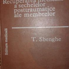 Recuperarea medicala a sechelelor posttraumatice ale membrelor - T.Sbenghe - Carte Recuperare medicala