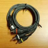 Cablu Jack 2, 5 la 3 x RCA Tata 1, 4m Nokia