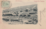 SALUTARI DIN ROMANIA  ,  SLANIC PRAHOVA ,  CLASICA , TCV , CIRCULATA 1902, Printata