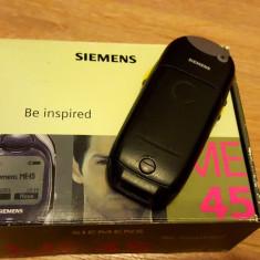 Siemens ME45 la cutie - 69 lei - Telefon mobil Siemens, Gri, Nu se aplica, Neblocat, Fara procesor