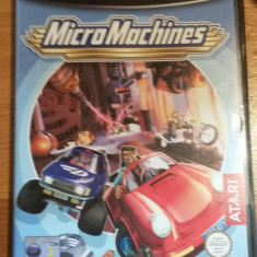 GAMECUBE Micro Machines / Joc original by WADDER Atari, Curse auto-moto, 3+, Multiplayer