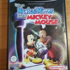 GAMECUBE Disney's Magical mirror staring Mickey Mouse / Joc original by WADDER Capcom, Actiune, 3+, Single player