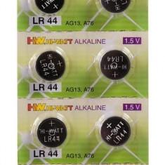 Baterii Alcaline LR 44 (AG 13) 1.5 Volti 10 buc.