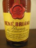 brandy renè briand extra, puro distillato di vino, cc.750  gr 40  ani 70 lot A