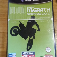 GAMECUBE Jeremy McGrath supercross world / Joc original by WADDER Altele, Curse auto-moto, 3+, Multiplayer