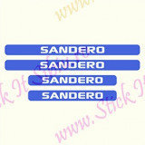 Set Protectie Praguri Dacia Sandero-Model 9_Tuning Auto_Cod: PRAG-433 - Praguri tuning