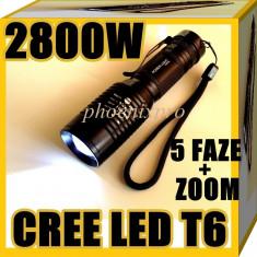 LANTERNA TELESCOPICA CREE LED T6 2800W