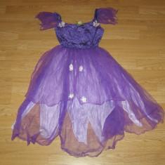 Costum carnaval serbare zana printesa pentru copii de 4-5-6 ani